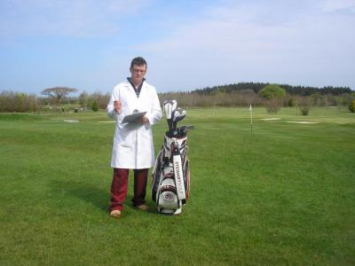 With The superb Stewart Golf Bag